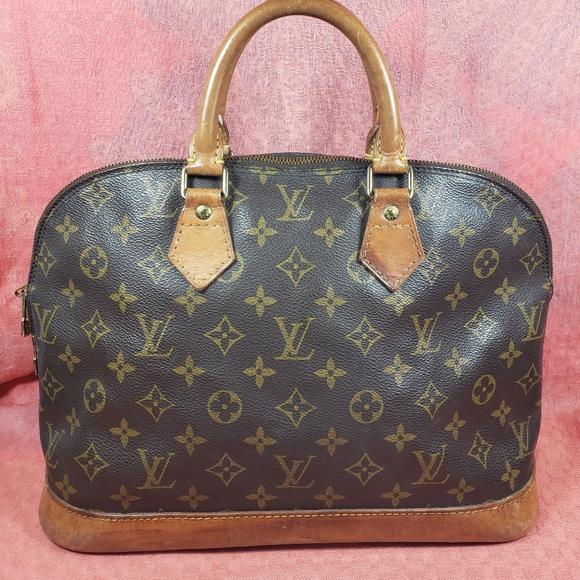 Louis Vuitton Handbags - Authentic Louis Vuitton Monogram Alma Bag